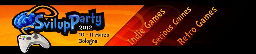 Logo Svilupparty 2012
