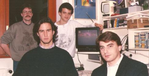 Fabio Rossi, Nicola Tomljanovich, Francesco Martire e Raffaele Valensise