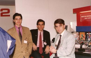 Alfredo Siragusa, Fabrizio Farenga; Raffaele Valensise