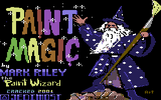 Paint Magic Intro Screen