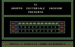 Screenshot: jackson_soft_oro_second_serie_vincere_al_totip.png