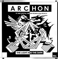 Copertina di Archon: The Light and the Dark