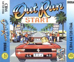 Copertina di Out Run (Versione Europea)