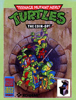Copertina di Teenage Mutant Hero Turtles - The Coin-Op!