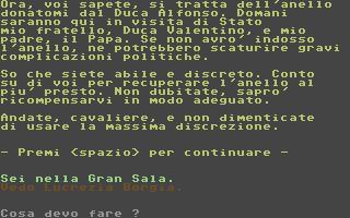Anello di Lucrezia Borgia, L'