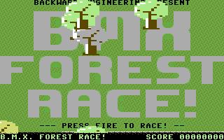 BMX Forest Race