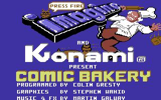 Comic Bakery
