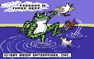 Frogger II: Three Deep