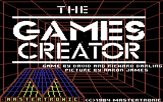 Games Creator, The