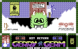 Gerry the Germ goes Body Poppin'
