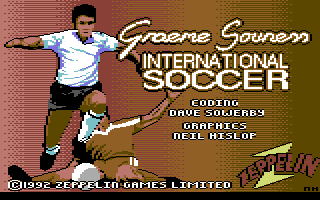 Graeme Souness International Soccer