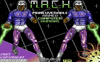 M.A.C.H.: Maneuverable Armed Computer Humans