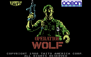 Operation Wolf (Versione USA)