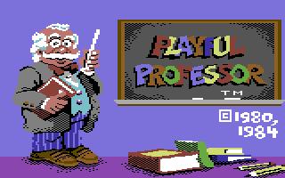 Playful Professor: Math Tutor