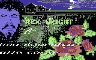Rex Wright: Una Domenica alle Corse