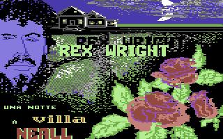 Rex Wright: Una Notte a Villa Neall
