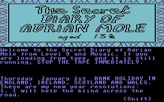 Secret Diary of Adrian Mole, The