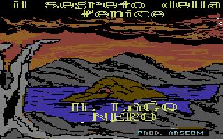 Segreto della Fenice, Il: Il Lago Nero