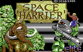ScreenshotSpace Harrier (Versione Europea)