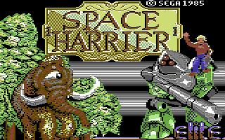 Space Harrier (Versione Europea)
