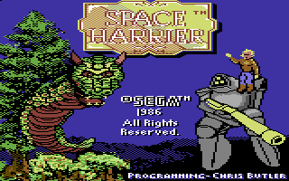 Space Harrier (Versione USA)