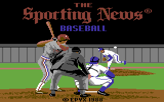 Sporting News Baseball, The