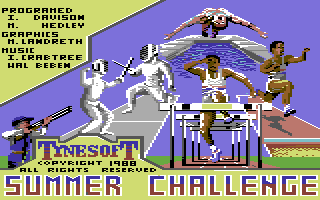 Summer Challenge (Versione USA di Summer Olympiad)