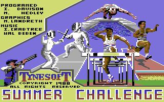 Summer Challenge (Versione USA di Summer Olympiad)