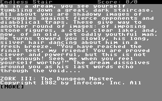 Zork III: The Dungeon Master